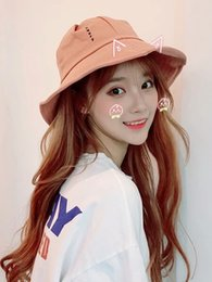 Fashion Cotton Sunhats Australia - Fisherman's Hat Female Summer Net Red Shield and Sunshade Japanese Version Hundred Hats Female Sunhat Female Fashion Spring and Autumn Tide