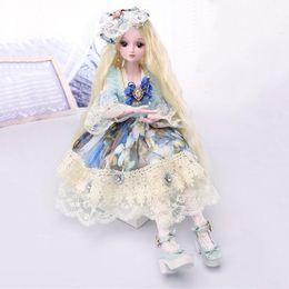 $enCountryForm.capitalKeyWord Australia - Doll Dress Up 60cm bjd Simulation Princess Barbie Doll Gift Box Girl Constellation Toy Gift