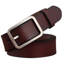 $enCountryForm.capitalKeyWord Canada - Brand Luxury Women Mens Faux Leather Waist Belts Fashion Casual Metal Pin Buckle Ladies Vintage Wide Belt 2019