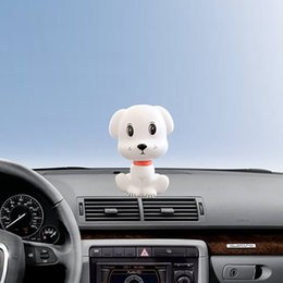 $enCountryForm.capitalKeyWord Australia - Car Shaking Head Doll Dog Auto Ornaments Style Decal Cute Figures Toy Decoration Puppet Cartoon PVC Plastic Figure Ornament Gift