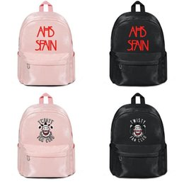 $enCountryForm.capitalKeyWord Australia - American Horror Story AHS Spain Logo Manufacturers selling designer backpack handbags shoulder bags Mens Women Nylon Superior quality