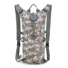 Wholesale 3L Water Bag Molle Tactical Hydration Backpack Outdoor Camping Camelback Nylon Camel Water Bladder Bag For Cycling K465