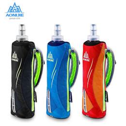 $enCountryForm.capitalKeyWord Australia - AONIJIE Running Kettle Pack Outdoor Sports water bottle Bag Men Cycling Running HandHeld Kettle Bag With 500ML Soft Water Flask
