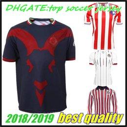 long sleeve 18 19 20 MEXICO Club Chivas de Guadalajara Home Soccer Jersey  2018 Authentic Champion Camiseta de Futbol Football Shirts 4373570c2