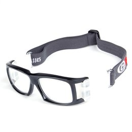 GoGGles pad online shopping - Basketball Football Badminton Goggles Men Women PC Lens Silicone Pad Cycling Riding Glasses Eyes Protector Sports