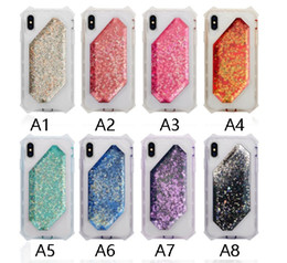 Phone cases cover front back online shopping - For iPhone Plus S Plus High Quality Liquid Glitter phone Case Colorful Front Back Cover quicksand phone cases