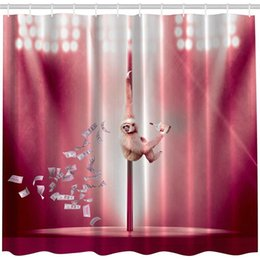 pole dance party Canada - Party for Adults Funny Animal Art Decor, Monkey Dancing on The Stripper Pole Dollars Striptease with Whiskey Bottle for Fun Fabric