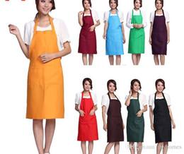 $enCountryForm.capitalKeyWord Australia - Wholesale Women Plain Apron Chefs Butchers Kitchen Craft Gift Home Kitchen Cooking Craft Baking Cleaning Tool Accessories