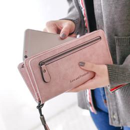 $enCountryForm.capitalKeyWord Australia - Fashion Small Crossbody Fashion Simple Shoulder Lady Wild Retro Matte Hand Multi-Card Position Wallet Long Section