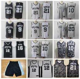 b5592819151 Man Basketball Spurs DeMar 10 DeRozan Jersey Edition City LaMarcus 12  Aldridge Pau 16 Gasol Tony 9 Parker Manu 20 Ginobili Duncan