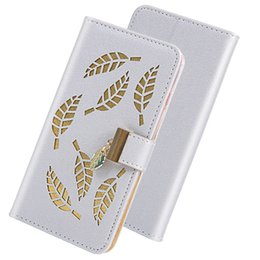 leaving cards Australia - Flip Cover Stand Wallet Case For Huawei P20 Lite P20 Pro P30 Pro P30 Lite Nova 4E Card Slots Hollow Out Gold Leaves