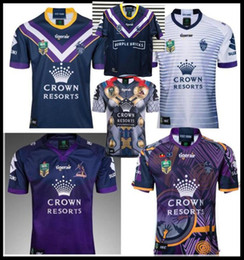 f8b59f04335 League jerseys online shopping - 2018 melbourne storm home away rugby Jersey  NRL National Rugby League