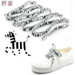 $enCountryForm.capitalKeyWord NZ - zebra Black and white shoelace decoration Pattern Colored Shoe Laces Flat Shoelace England Style Shoe Lacing Shoelaces printing