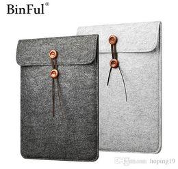 Macbook For Sale Australia - Big sales Felt Soft Sleeve Bag Case For Apple Macbook Air Pro Retina 11 12 13 15 17 Laptop Anti-scratch Cover For ipad 9.7 air pro