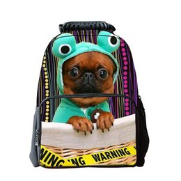 3ca78b78fbee iMaySon 3D Kids Classical Dog Face Fashionable Cute Printing Head School Bag  Unique Girl Youth Children s Day Gift Teenager Boys Backpack
