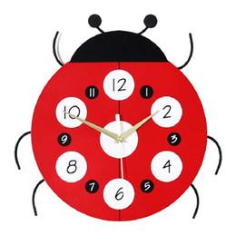 $enCountryForm.capitalKeyWord Australia - Cartoon fashion living room wall clock Creative wooden home clock Children's room decorated shape quartz