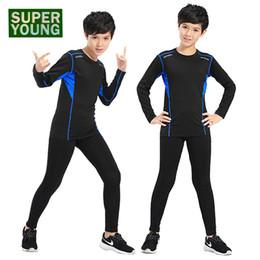 $enCountryForm.capitalKeyWord NZ - Children Sports Wear Jogging Suit Kids Running Fitness Clothes Gym Tights Men Boys Training Sportswear Compression Clothing Sets
