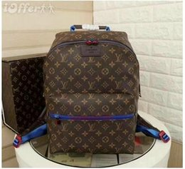 cdcc4d87e6b wholesale AJLOUIS VUITTON APOLLO old flower backpack MICHAEL 25 KOR  shoulder bag clutch handbag luxury messenger package LOUIS
