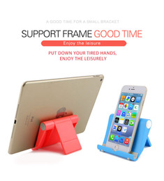 $enCountryForm.capitalKeyWord Australia - Portable Tablet PC Stand Foldable Phone holder Universal Adjustable Smartphone Tablet Holder for iphone 6S 7 8 x xs max Samsung S7