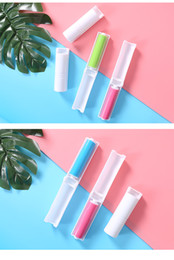 Rollers For Hair Australia - 2018 Portable Sticky Washable Lint Roller With Cover for Wool Sheets Hair Clothes cleaner Dust Catcher remover Dust Lint Roller
