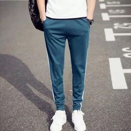 Size Cotton Training Pants Australia - Breathable Jogging Pants Men Fitness Joggers Running Pants With Pocket Training Sport For Running Tennis Play size M-5XL