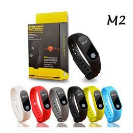 M2 Smart Bracelet Australia - M2 Smart Watch Fitness Tracker Heart Rate Monitor Waterproof Activity Tracker Smart Bracelet Pedometer Call remind Health Wristband