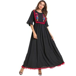 $enCountryForm.capitalKeyWord UK - Loose muslim hijab dress women Spliced Half Sleeve muslim dresses female Arab Dress Islam Jilbab ramadan caftan turkey#G9+1