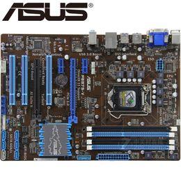 Asus Motherboard I3 Australia - Asus P8B75-V Desktop Motherboard B75 Socket LGA 1155 i3 i5 i7 DDR3 32G uATX UEFI BIOS Original Used Mainboard On Sale