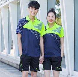 Clothes Kitting Australia - New Female   Male's Tennis shirt , badminton clothes women , Elastic Ping Pong Youth Kit , camiseta badminton