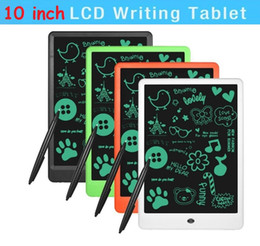 $enCountryForm.capitalKeyWord UK - NEW LCD 10 inch Writing Tablet Lcd writing board Blackboard Handwriting Pads Paperless Notepad Whiteboard Memo With Upgraded Pen DHL free