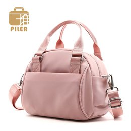 $enCountryForm.capitalKeyWord Australia - Women Shoulder Bags 2019 Luxury Handbags Designer Tote Bag Pink Fashion Female Nylon Casual Crossbody Bags Ladies Messenger