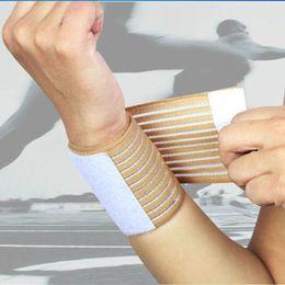 $enCountryForm.capitalKeyWord Australia - 2 Pcs Outdoor Sport Elastic Bandage Hand Sport Wristband Gym Support Wrist Wrap Fitness Tennis Polsini Sweatband