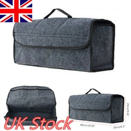 travelling car seat 2019 - Car Seat Back Multi-functional Storage Bags Organizer Cool Hot Travel Holder Big Storage Bag Gray cheap travelling car s