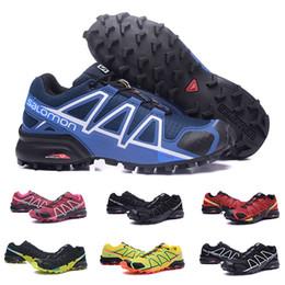 Cheap Cross body online shopping - 2019 New Cheap Salomon Speed Cross CS IV Mens Running Shoes Top Quality Outdoor Jogging Walking Sneakers Athletic Men Women Shoe