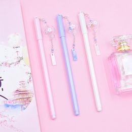 wind pen 2019 - Gel Pen 0.5mm Pens Kawaii Wind Chimes Pendant Neutral Pens For School Girls Gift Writing Office Supplies Stationery Nove