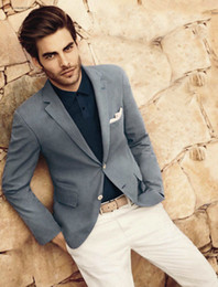 $enCountryForm.capitalKeyWord Australia - Handsome Groomsmen Charcoal Grey Groom Tuxedos Mens Wedding Dress Man Jacket Blazer Prom Dinner 2 Piece Suit(Jacket+Pants+Tie) A197