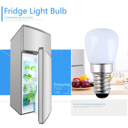 RefRigeRatoR bulbs online shopping - E14 E12 W Refrigerator LED Lighting Mini Bulb AC220V Refrigerator Interior Light White Warm White Dimming No Dimming