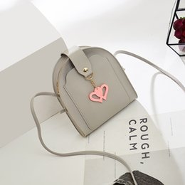 south korean cell phones Australia - 2019 south Korean version of the new women's bag personality pendant small bag slant shoulder casual small fresh small square bag
