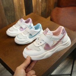 Sneakers Cut Out Australia - Summer Baby Toddler Girls Boys Air Mesh Cut Out Breathable Sneakers Little Kid Sport Casual Trainers Children Lightweight Shoes