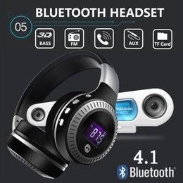 $enCountryForm.capitalKeyWord Australia - FANTEMO Hot Sale Headphone LCD Display HiFi Bass Stereo Bluetooth Wireless Headset With Mic FM Radio TF Card