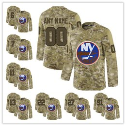 1d3bbe12e Camo Ice Hockey Jersey UK - 2019 Camo 27 Anders Lee 91 John Tavares 29 Brock