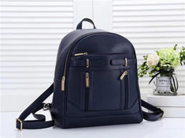 High Quality Backpack Brands Australia - High Quality Fashion Women zipper Bags Famous Brands Designer Womens Backpack Lady Sport Outdoor Packs Traveling Motorcycle bag M2019