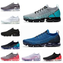 plastic cactus Canada - Top Platform Vapors 2.0 3.0 Women Running Shoes Gym Blue Dusty Cactus Light Cream Hot Punch Men Designer Sneakers 36-45