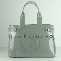 Patent leather totes online shopping - 2019 Fashion women classical bags Patent Leather designer bag bright face patent leather shoulder tote bag large capacity handbags