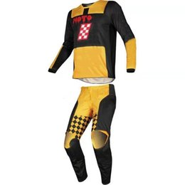 racing gears NZ - New 3 Colors MX 180 Motorcycle Jersey Pants Gear Set Motocross combination Driving Riding GP PRO Motorbike Racing Suit