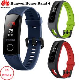 En stock! Original Huawei Honor Band 4 Correr / Versión estándar Smart Wristband Shoe-Buckle Sport Land Impact Asesoramiento profesional