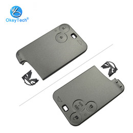 $enCountryForm.capitalKeyWord NZ - For Renault Smart Key Card 2 3 Button Replacement Cover Case Keyless Fob Remote Car Key Shell For Renault Laguna Espace