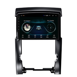 usb touch display Australia - Android car GPS navigation radio AM FM Resolution HD1080 display Resolution 1024 * 600 USB for KIA sorento 2012 10.1inch