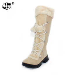 Discount sexy mesh boots - Wholesale 2018 New Hot Fashion sexy ladies' Platform Boots Women Knee High boots winter women shoes fur warm snow b