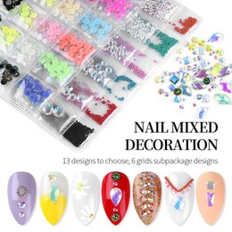 flat back acrylic decoration Australia - Mixed Color Shape AB Nail Art Rhinestones Decoration Mixed Color Shape AB Nail Art Rhinestones Decoration Flat Back Crystal Manicure Nail Ac